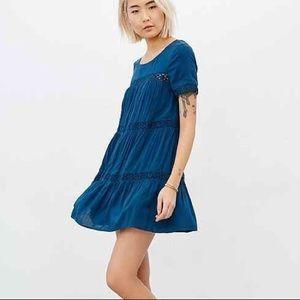 Alice & UO Eleonora Crochet Inset Dress